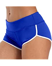 Workout Shorts for Women Hot Yoga Running Athletic Gym Booty Dolphin Shorts