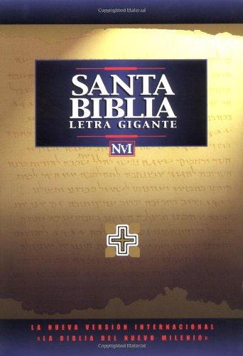 NVI Santa Bíblia Letra Gigante Imit Negro