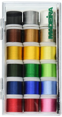 - Tacony Corporation Madeira Rayon Thread Sampler-18 Spools