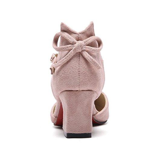 Con pink Zeppa Sandali 35 Donna Rosa Balamasa 5pqf7n