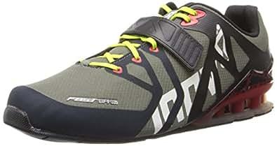 Inov-8 Men's Fastlift 335 Cross-Training Shoe,Forest/Black/Red/Lime,13 E US/14.5 E US Women's