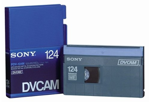 Sony PDV-124N DVCAM 124 Minutes Tape 10 Pack (Non Chip)
