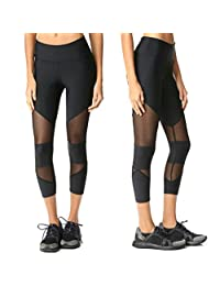 Gillberry Women Sports Trousers Athletic Gym Workout Fitness Yoga Leggings Pants