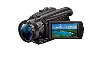 """Sony Handycam FDR-AX700 - Videocámara 4K con Pantalla DE 3.5"""" (HDR HLG, CMOS Exmor RS apilado 1.0, Fast Hybrid AF, Zoom HD 24x y Zoom 4K 18x, estabilizador óptico, WiFi, NFC), Negro"""