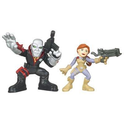Destro and Scarlett - GI Joe Combat Heroes