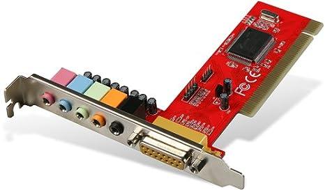 SPEEDLINK 5.1 PCI Audio Card Interno 5.1 Canales - Tarjeta ...