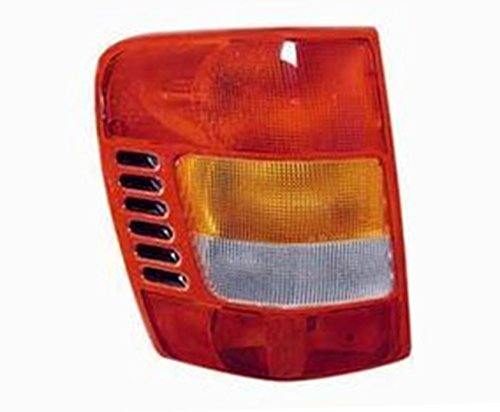 NEW LEFT DRIVER SIDE TAIL LIGHT FITS JEEP GRAND CHEROKEE 1999-2001 55155139AC CH2800138
