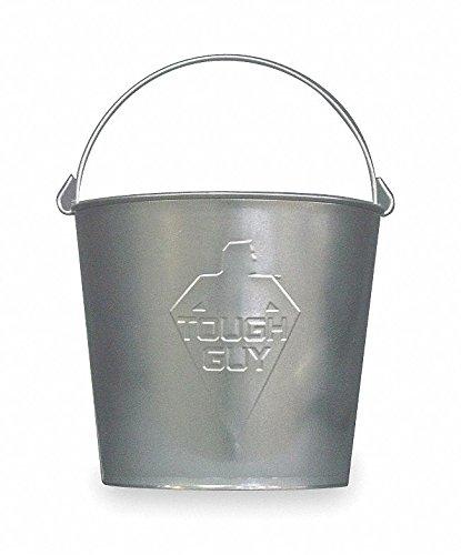 3 gal. Silver Galvanized Steel Mop Bucket, 1 EA ()
