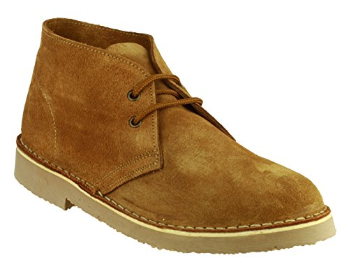 Taupe Lined Sahara Boot Brown Desert Up Leather Mens Lace Cotswold Suede CvW5xwYACq