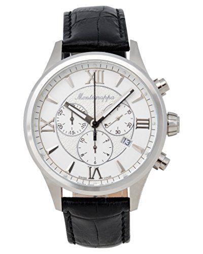 Montegrappa Fortuna Chronograph Men's Stainless Watch IDFOWCLJ Swiss Made