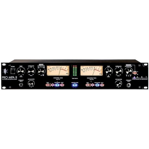 ART ProMPAII Two Channel Discrete Class A Microphone (Channel Preamp Studio Preamps)
