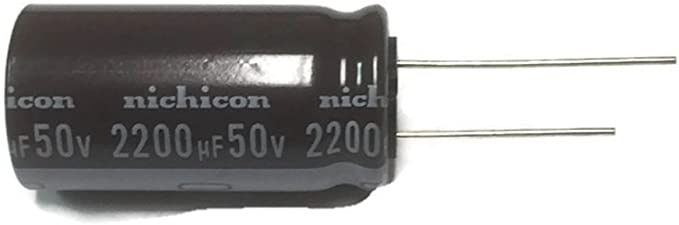 20PCS 220uF 50V Electrolytic Capacitor 105°C 8x12mm NEW CK