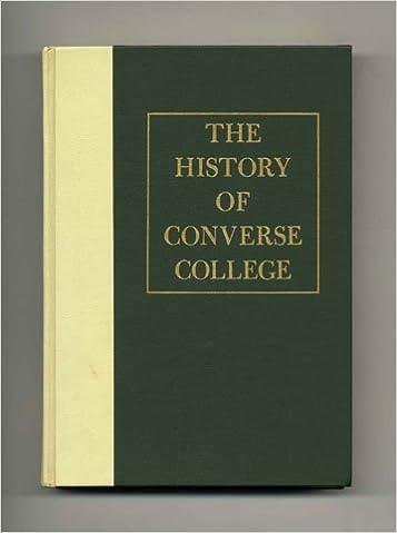 b4fdb6b5ed5cda The History of Converse College 1889-1971  Lillian Adele Kibler   Amazon.com  Books