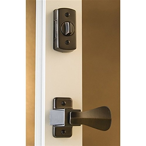 Storm Door Hardware Lever 2 Piece Surface Mount Oil Rubbed Bronze 3/4 Inch Thick Door by Hardware Specitalies, Inc (Image #1)