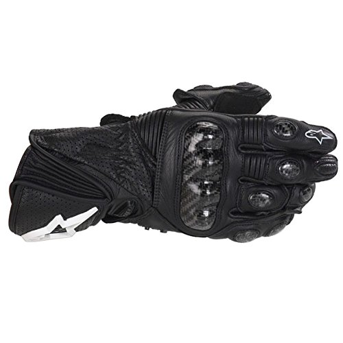 2013 Alpinestars Stella GP Plus Women's Leather Motorcycle Gloves BLK XL