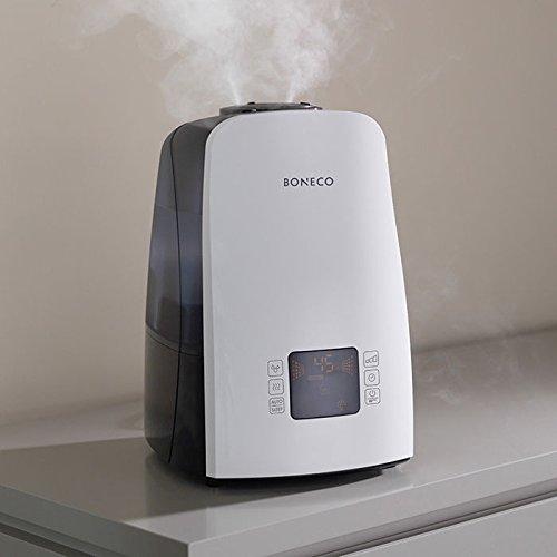 BONECO Warm or Cool Mist Ultrasonic Humidifier U650