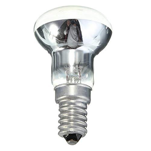 DP-iot 30w Edison Bulb E14 Light Holder R39 Reflector Spot Light Bulb Lava Lamp Incandescent Filament Lamp 220-240V 2700K 150lm