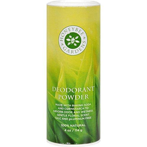 New - Honeybee Gardens Deodorant Powder - 4 oz - Soft Deodorant Roll