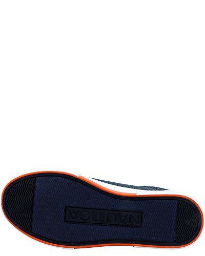 Nautica Boys' Berrian Low-Top Sneakers (Sizes 13-5) - Chambray Blue, 5 Youth by Nautica (Image #4)
