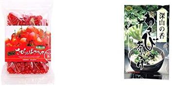 [2点セット] 収穫の朝 さくらんぼグラッセ ラム酒風味(180g)・特選茶漬け 深山の香 わさび茶づけ(10袋入)