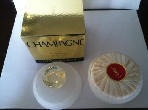 (Champagne Perfumed Soap by Yves Saint Laurent 100g)