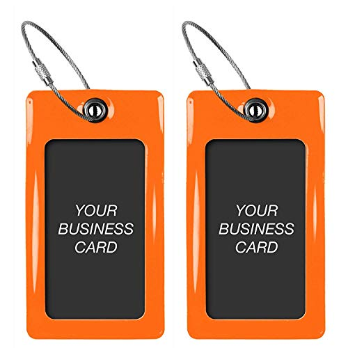 Luggage Tags TUFFTAAG, Business Card Holder, Suitcase Labels, Travel Accessories ()