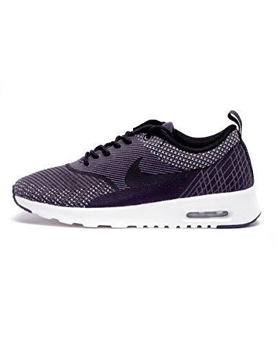 Nike Women's Wmns Air Max Thea JCRD, DARK GREY/BLACK-WHITE-MTLLC SILVER, 5.5 US