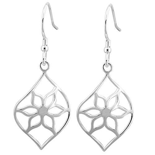 (Sterling Silver Curved Leaf,Variety