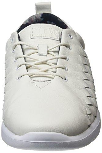 Vans Herren Tesella Low-Top Weiß ((3d Aloha) White/white)