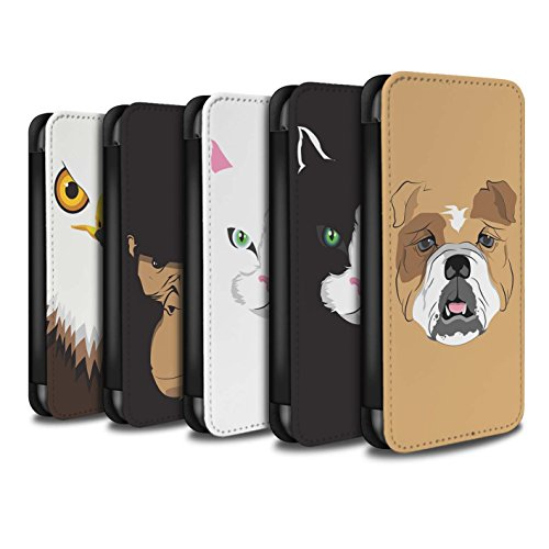 Stuff4 Coque/Etui/Housse Cuir PU Case/Cover pour Apple iPhone 5C / Multipack Design / Museaux Collection