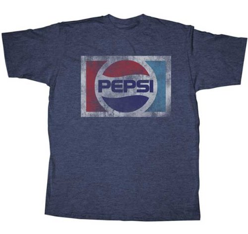 Pepsi Vintage Heather Adult T shirt product image