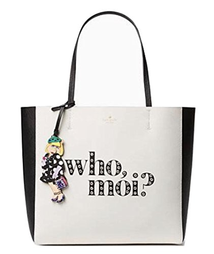 Kate Spade Who Moi Hallie Tote Bag Leather Multi Handbag Miss Piggy by Kate Spade New York