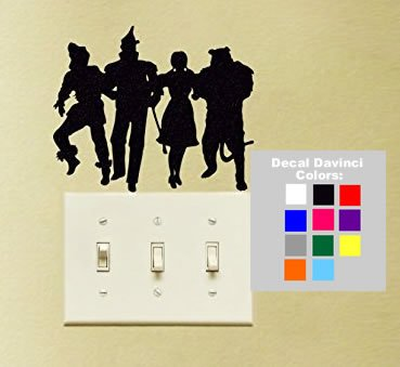 Removable Wall Decals Wizard Of Oz : Funky Wall Words With Wizard Of Oz  Wall Decals Part 77