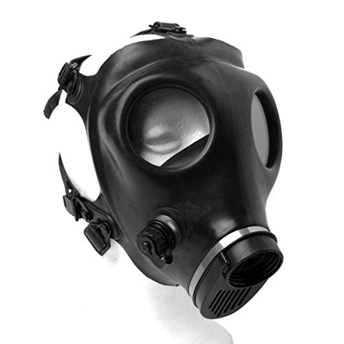 Israeli Style Rubber Respirator Mask NBC Protection Halloween For Industrial Use Chemical Handling Painting, Welding, Prepping, Emergency Preparedness KYNG TACTICAL Mask Only (filter sold separately) -