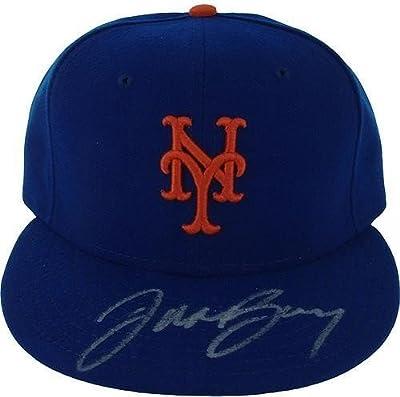 Jason Bay Autographed Authentic Blue Mets Hat MLB Auth Size: 7 3/8 - Authentic Signature