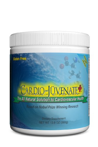 Cardio Juvenate Plus Cardio Health Formula: Nitric Oxide Supplement 5000mg L arginine, 1000mg L citrulline, 1000mg L carnitine, 2500IU Vitamin D3 per serving to naturally support heart and blood pressure