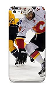Durable Case For The Iphone 5c- Eco-friendly Retail Packaging(calgary Flames (9) )