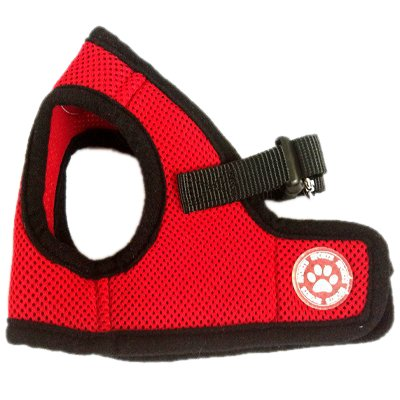 BINGPET BB5005 Classic Soft Vest Dog Puppy Pet Harness Adjustable Extra Small Red