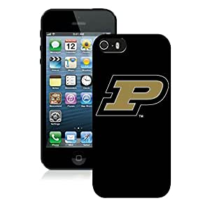 Apple iPhone 5s Protective Skin NCAA-BIG TEN Purdue Boilermakers 2 Case For Plastic iPhone 5s 5th Generation Case