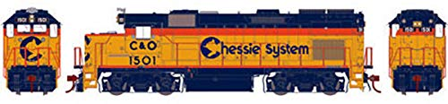 Athearn Genesis HO Scale GP15T Diesel Locomotive Chessie System/C&O (Athearn Genesis Ho)