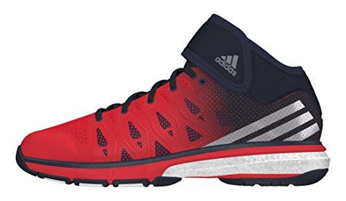 adidas Energy Volley Boost Mid, Zapatillas de Voleibol para Hombre Rojo (Rojint / Nocmét / Maosno)