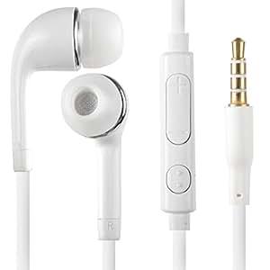 katito White Headset Earphone for Samsung S4