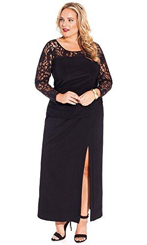 IGIGI Women's Plus Size Mira Maxi Skirt 14/16