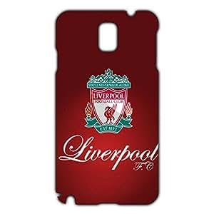 Unique Design FC Livepool Football Club Phone Case Cover For Samsung Galaxy Note 3 3D Plastic Phone Case