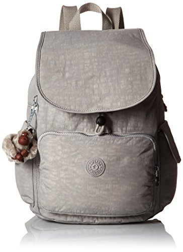 Kipling Ravier Multipurpose Backpack, Slate Grey, One Size (Fabric Handbags Slate)