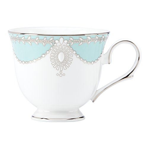 (Lenox Marchesa Empire Pearl Tea Cup, Turquoise )
