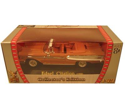 1958 Edsel Citation Car Braun 1/43 Diecast Car Citation Model by Yat Ming 1:43 Road Signature series 78147c