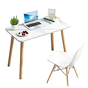 Amazon.com: Laptop Table Solid Wood Legs Home Small Table ...