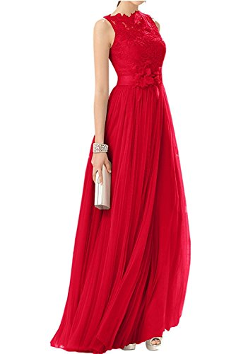 Rock Rosa Tuell La Damen Langes Abendkleider Spitze Abschlussballkleider Braut Festlichkleider Promkleider A Rot Linie mia t77wrqPxS