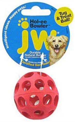 JW Pet Company Mini Hol-ee Bowler Dog Toy, Colors ()